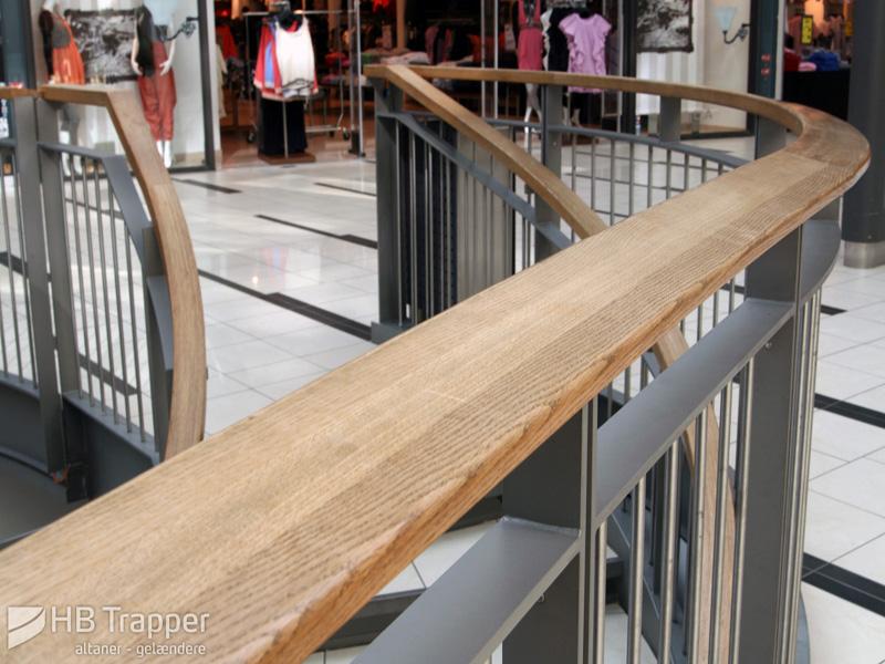 Gelænder, afskærmning og rækværk - gelændere i stål, træ og glas